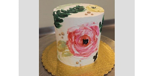 Floral Cake Decorating Class (03-03-2020 starts at 6:00 PM)