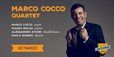 Marco Cocco Quartet - Live at Jazzino biglietti