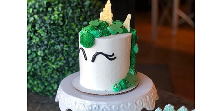 Irish Unicorn Cake Decorating Class (03-10-2020 starts at 6:00 PM) tickets