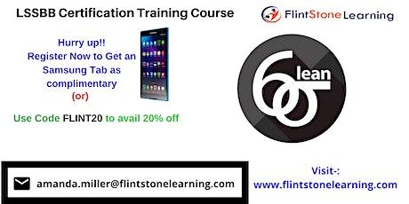 LSSBB Certification Training Course in Burlington, VT tickets