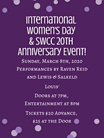 International Women's Day & SWCC 20th Anniversary