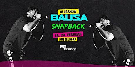 Bausa Clubshow 2020 - Nachtresidenz Düsseldorf Tickets