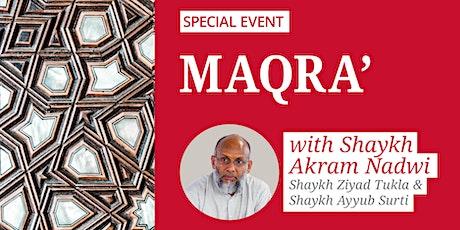 Maqra' tickets