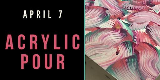 Acrylic Pour Workshop - Create Art on Tuesdays