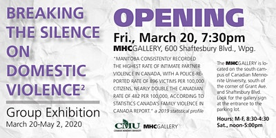 Breaking the Silence on Domestic Violence through  Visual Arts II