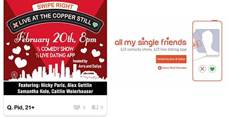 All My Single Friends: V-Day Recovery tickets