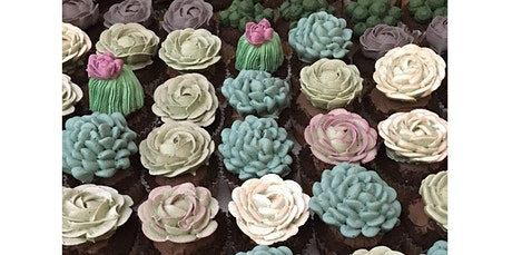 Succulent Cupcake Decorating Class (03-24-2020 starts at 6:00 PM) tickets