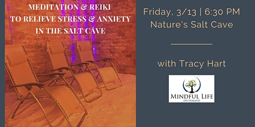 Meditation & Reiki to Relieve Stress & Anxiety with Tracy Hart