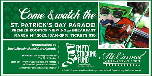 St. Patrick's Day Parade Breakfast for Empty Stocking Fund