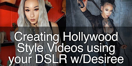 Creating Hollywood Style Videos for you clients using a DSLR tickets