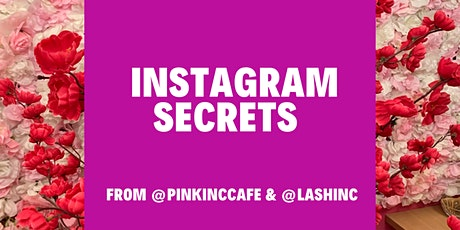 Instagram Marketing Masterclass tickets