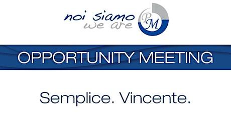 Opportunity Meeting Desio biglietti