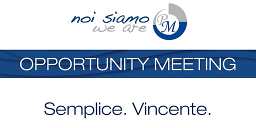Opportunity Meeting Desio