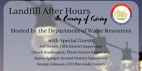 Landfill After Hours: An Evening of Giving tickets