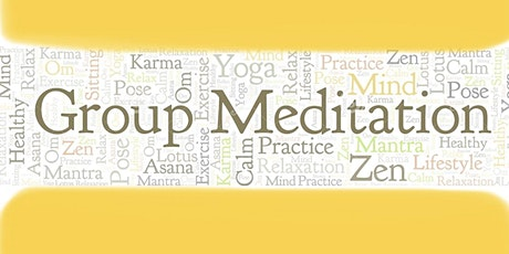 Online Group Meditation - Soho (Via Zoom) tickets