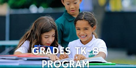 February 18-21 GHC TK-8 Pre-Enrollment tickets
