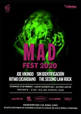 Sin Identificación - Mad Fest 2020 boletos