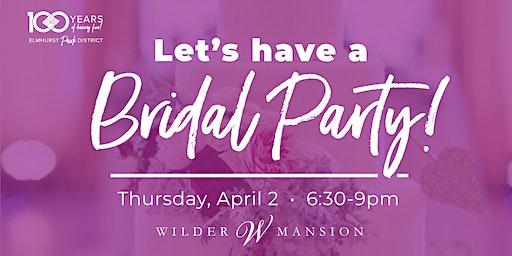 Wilder Mansion Bridal Party