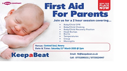 First Aid Course for Parents   tickets