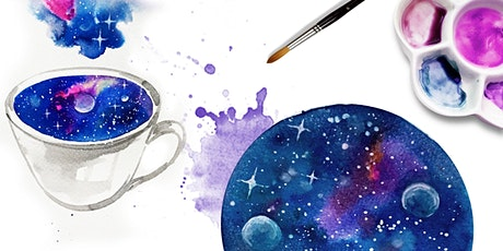 Paint Dreamy Galaxies with Watercolour tickets