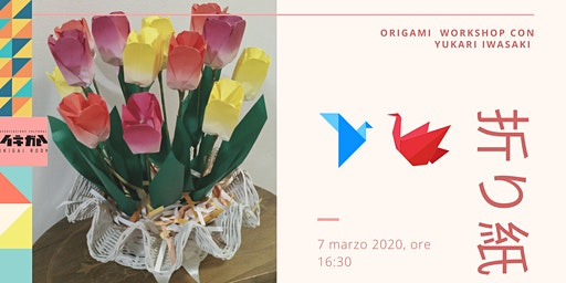 Workshop di origami con la maestra Yukari Iwasaki