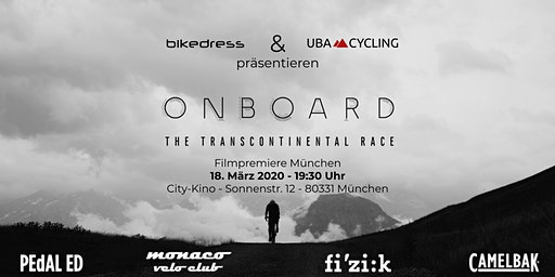 Onboard - The Transcontinental Race | Filmpremiere München