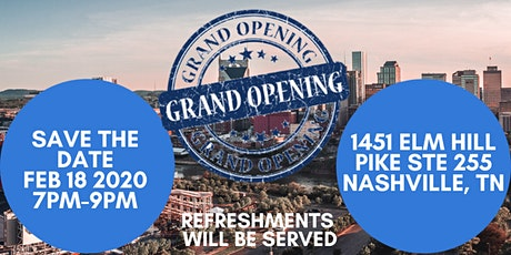 Grand Opening Celebration tickets