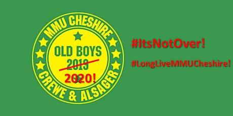 MMU Cheshire Old Boys 2020! tickets