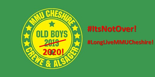 MMU Cheshire Old Boys 2020!