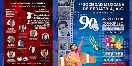Pre - Congreso y Congreso Conmemorativo Hispanoamericano de Pediatría 2020 boletos