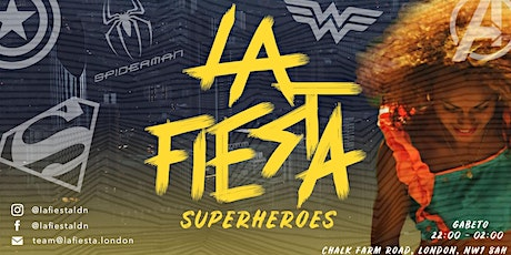 LA FIESTA Superheroes tickets