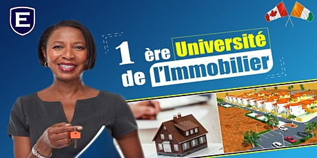 1ère UNIVERSITE DE L'IMMOBILIER billets