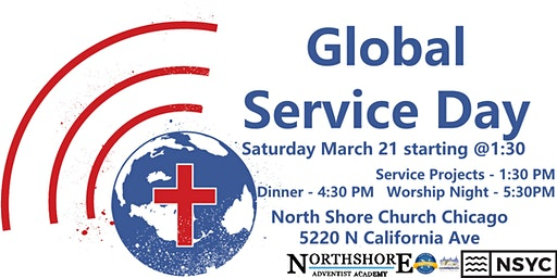 FREE Global Service Day Tickets