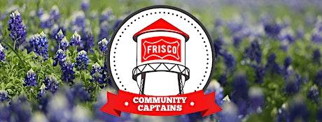 1st Quarter Community Captain Meeting tickets