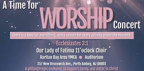 Time for Worship Concert tickets