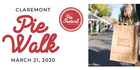 First Ever Pie Walk at the 2020 Claremont Pie Festival! (AKA Pie Passport) tickets