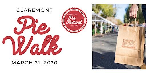 First Ever Pie Walk at the 2020 Claremont Pie Festival! (AKA Pie Passport)