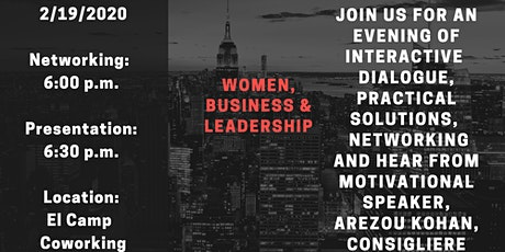 Women, Business & Leadership tickets