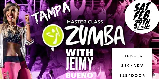 Jeimy Bueno Zumba Master Class in Tampa