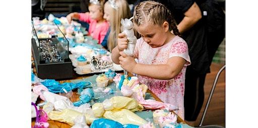Unicorn & Mermaid Kid's Cupcake Decorating Class (02-29-2020 starts at 4:00 PM)