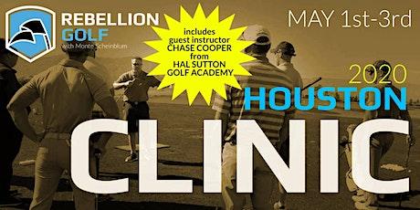 Rebellion Golf Clinic with Monte Scheinblum & Chase Cooper tickets