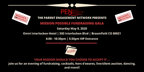 PEN's Mission Possible Fundraising Gala tickets