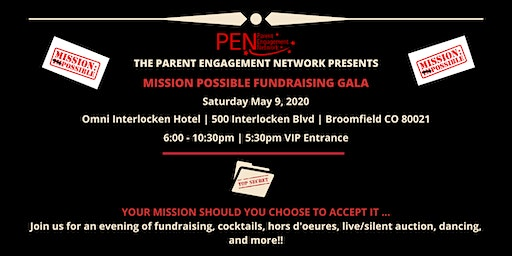 PEN's Mission Possible Fundraising Gala