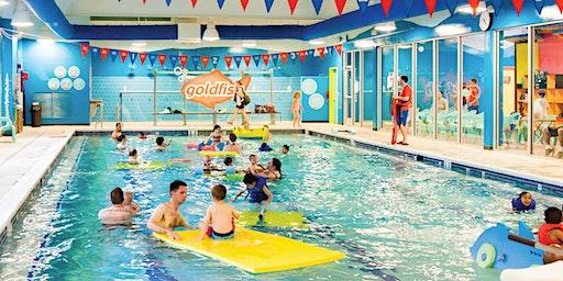 Macaroni Kid Schenectady Family Swim at Goldfish Swim School Colonie