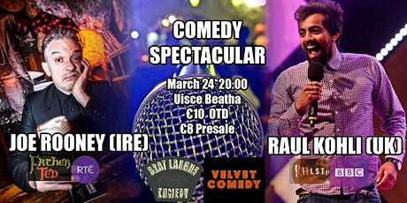Stand Up Comedy with Joe Rooney and Raul Kohli tickets