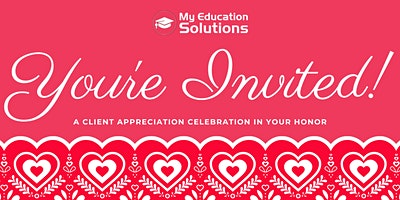 My Education Solutions - Client Appreciation Celebration