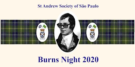 Burns Night - 2020 ingressos