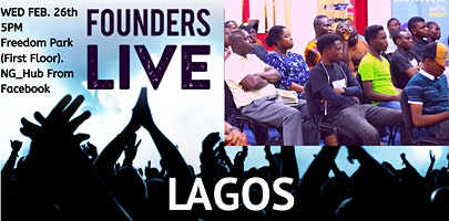 Founders Live Lagos - February 2020