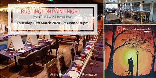 Rustington Paint Night