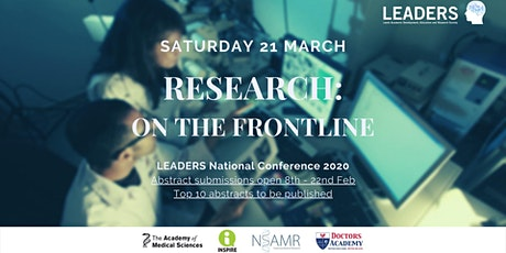 LEADERS Annual Conference: Research on the frontline tickets
